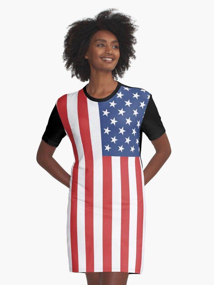 american flag dress shirt