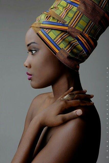 - #inszenierung   Head wraps, African beauty, African