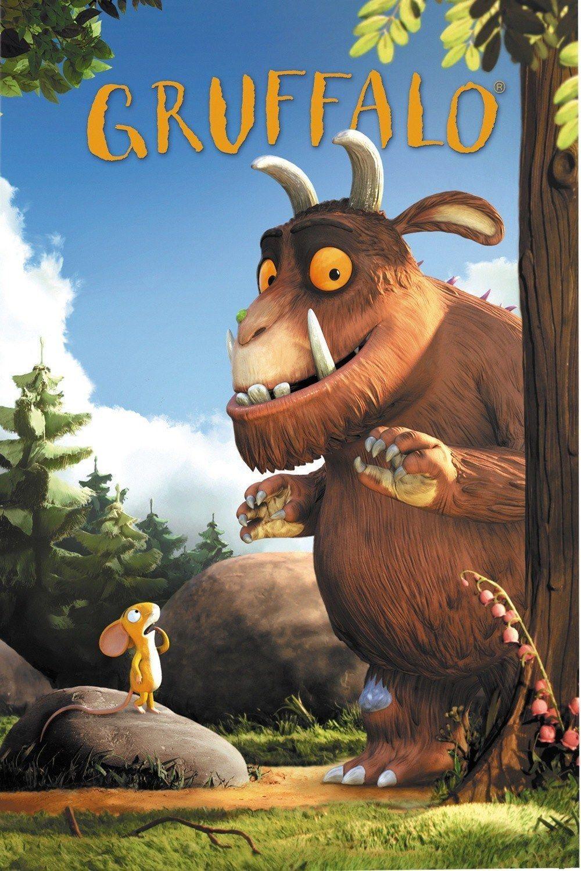 Party poster The gruffalo, Gruffalo movie, Kids dvd