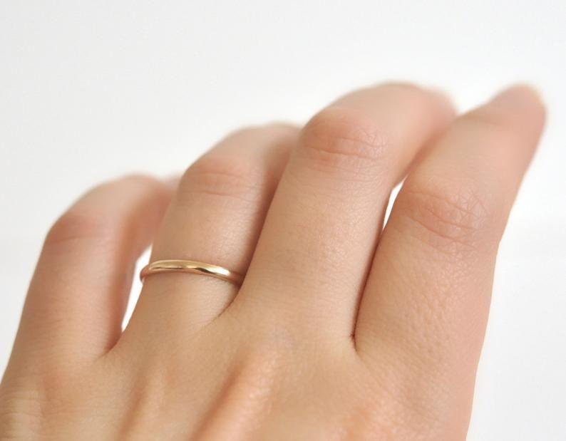 14k Gold Ring Women S Wedding Band Yellow Gold Ring 14k Etsy In 2020 Black Gold Engagement Rings Gold Wedding Band Womens Wedding Bands
