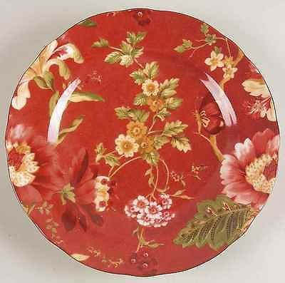 222 Fifth Summer Botanical Salad Plate Red More Of My Dinnerware Set