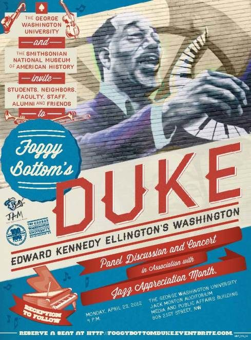 Awesome poster design (for a cool event!) Jazz Pinterest