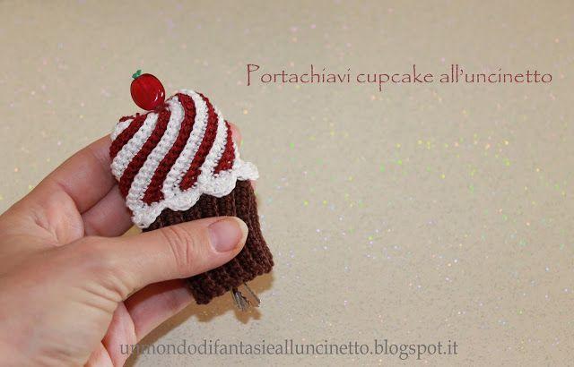 Un Mondo Di Fantasie Alluncinetto Di Lisa Portachiavi Cupcake All