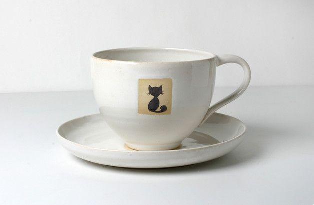 Grosse Weiß Tasse Milchkaffee Glänzend Glasierte Tee Für Oder OXZTkiuPw