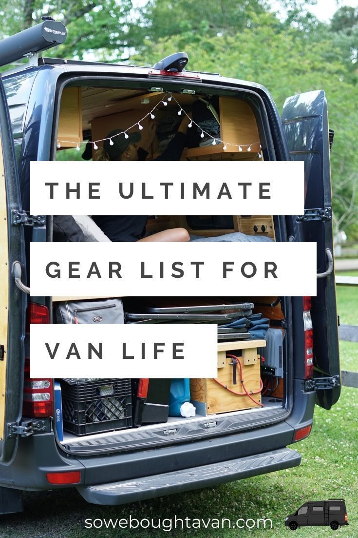 Photo of Ultimate Gear List for Van Life