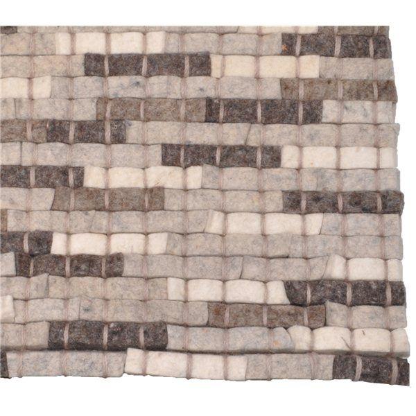 United mix beige vloerkleed - design tapijt