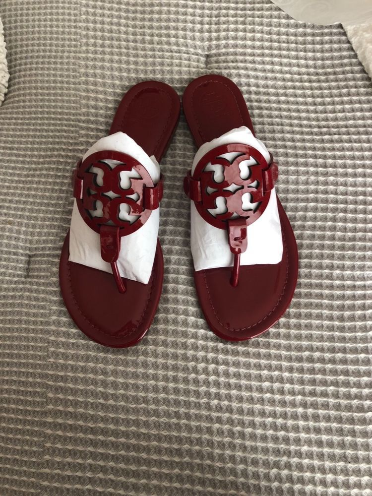6a5baf21a Tory Burch miller sandals. Size 9. Dark redstone color.  fashion  clothing   shoes  accessories  womensshoes  sandals  ad (ebay link)