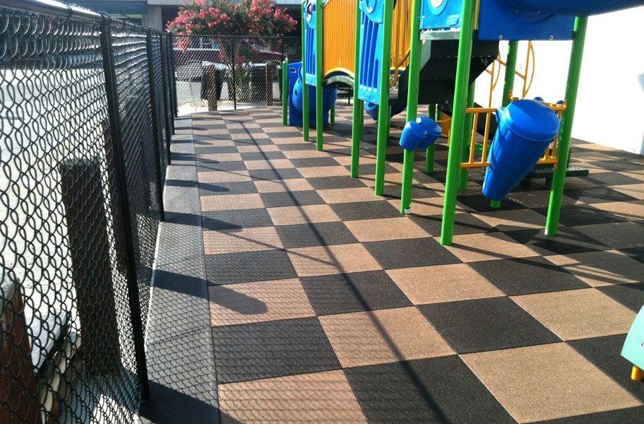 PlayTime Interlocking Playground Tiles Playground tile