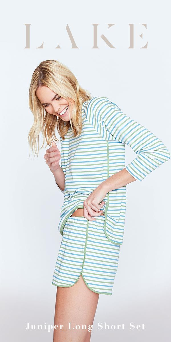 cb50539ec8 The Juniper Long Short Set will quickly become your favorite pajama ...