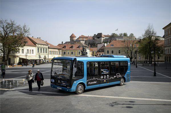 Eger  Electric bus  | Bus | Transport companies, Public transport