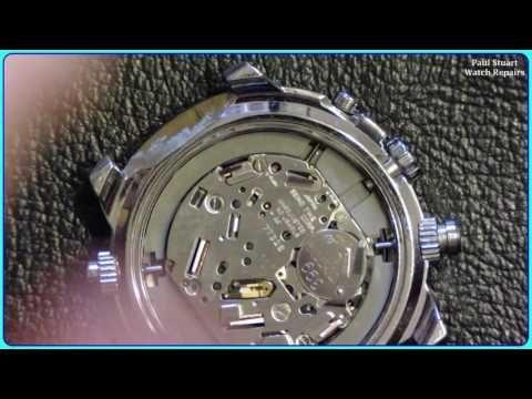 1965369f88dd Seiko 7T32 6N10 Full Service and Repair - YouTube
