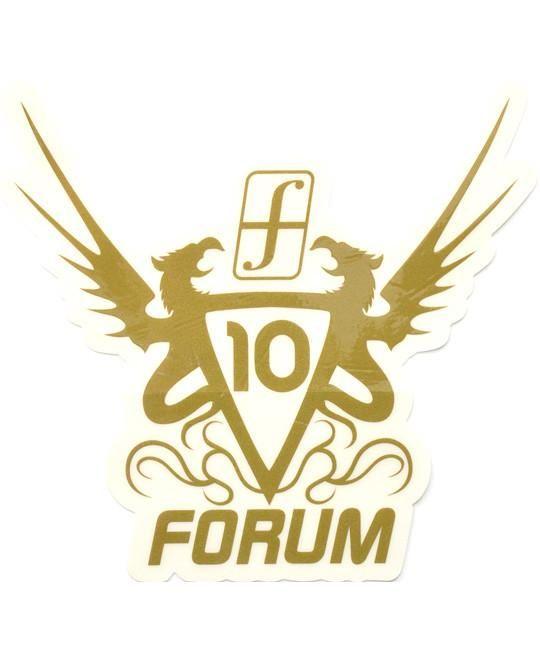 Forum Snowboard Sticker Anniversary Limited Edition Large