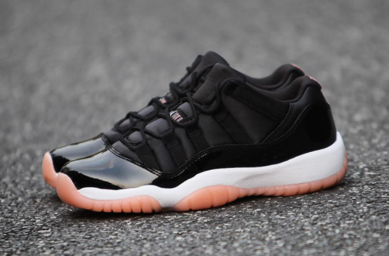 72d4a48a94f1 Air Jordan 11 Low GS Bleached Coral Release Date  April 7