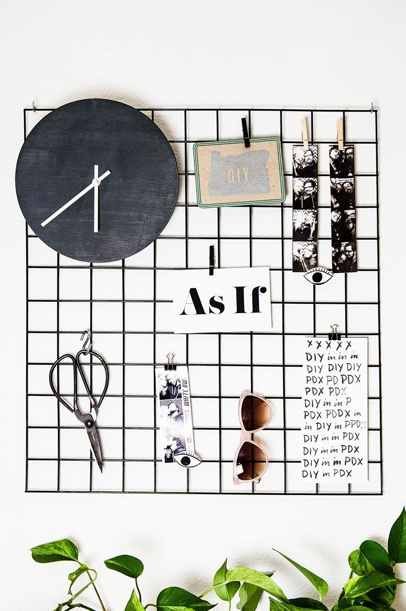 wall grid organizer diy metal wall grid minimalist decor 3311