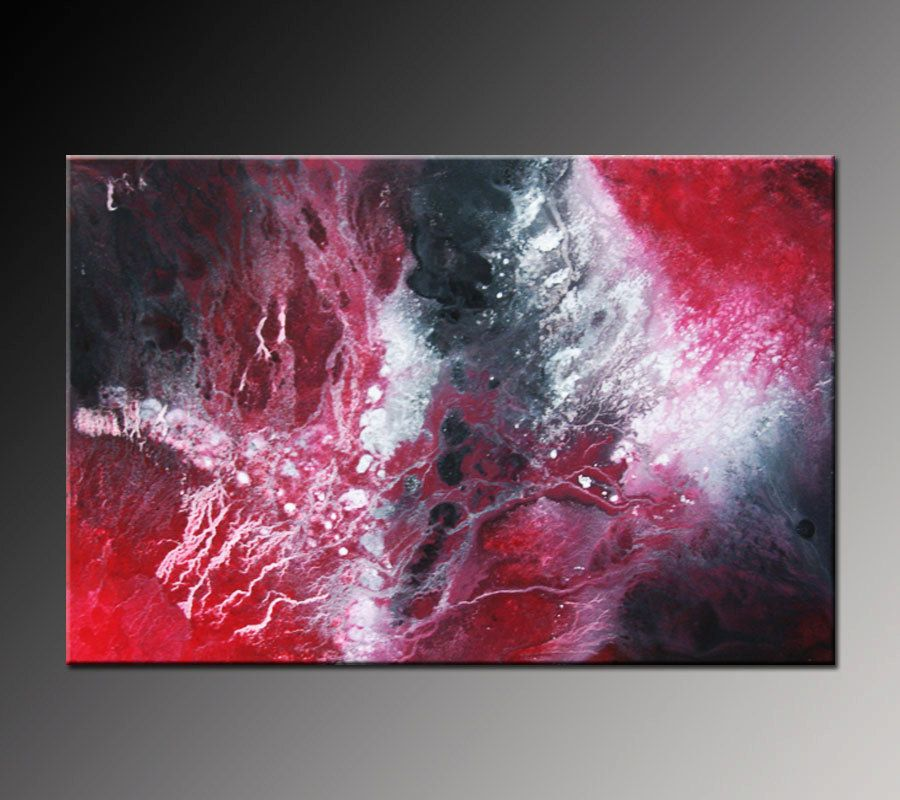 red black and white abstract painting 1 2am lovely pinterest