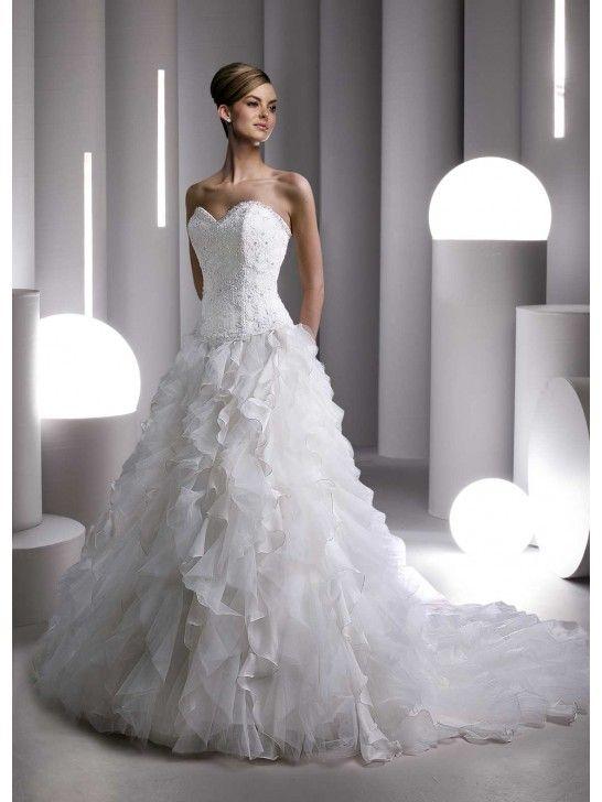 Photos de robes blanches de mariee