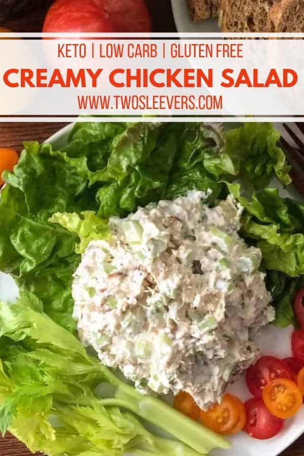 SUPER Simple CreamyChicken Salad