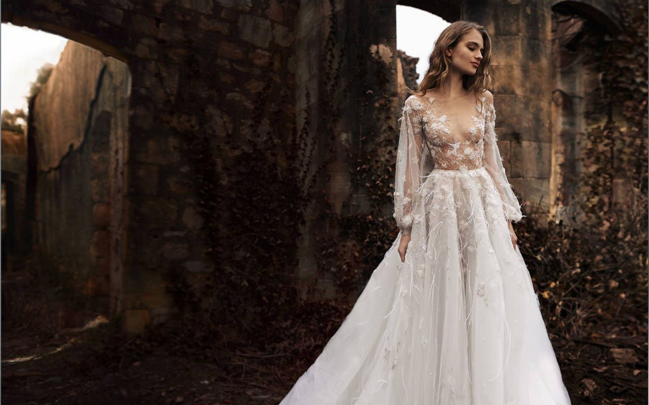 Elite wedding dresses  Paolo Sebastian  Spring Summer Couture  Wedding in the