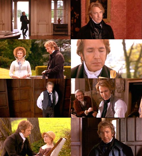Alan Rickman Colonel Brandon