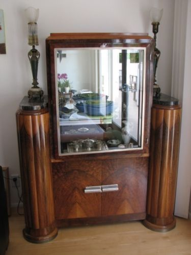Pleasing Details About Vintage French Art Deco Dining Table Set And Home Interior And Landscaping Staixmapetitesourisinfo