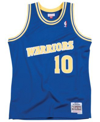 Mitchell   Ness Men s Tim Hardaway Golden State Warriors Hardwood Classic  Swingman Jersey - Blue XXL 2ce46e6c7