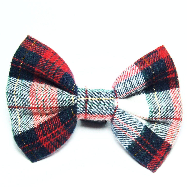a0c50d4fefdc Nutcracker Plaid Flannel Bow Tie | Products | Plaid flannel, Flannel ...