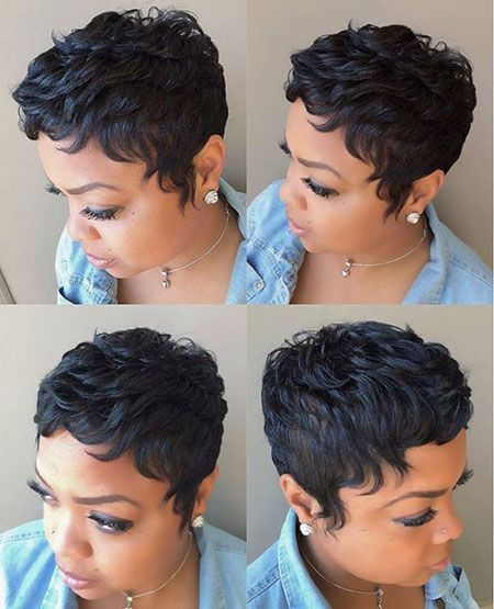 80 Best Short Pixie Hairstyles For Black Women In 2020 Short Hair Styles Pixie Short Hair Styles Wig Hairstyles
