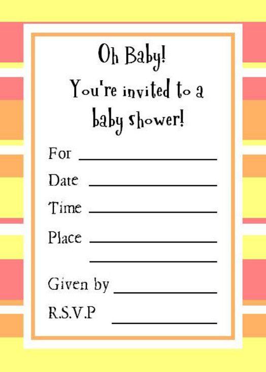 modern gender neutral baby shower invitations - Gender Neutral Baby ...