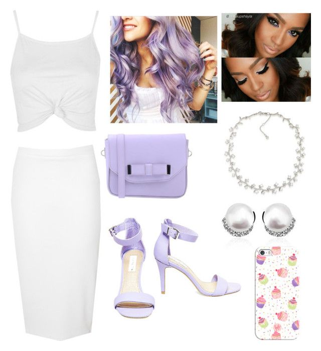 """""""Untitled #173"""" by savvyjazzee on Polyvore featuring Glamorous, Topshop, Steve Madden, Pieces, Carolee and Casetify"""