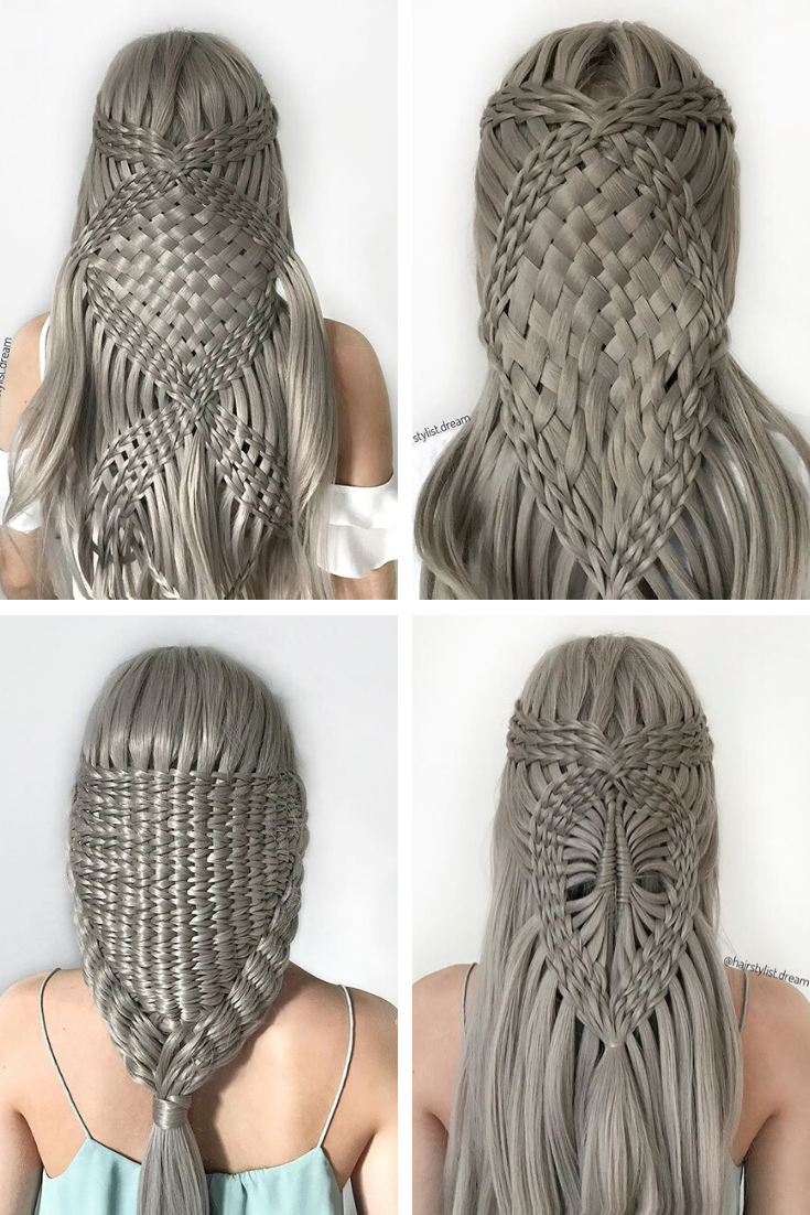 Silvermist Synthetic Lace Front Wig Hair Styles Braids For Long Hair Braided Hairstyles