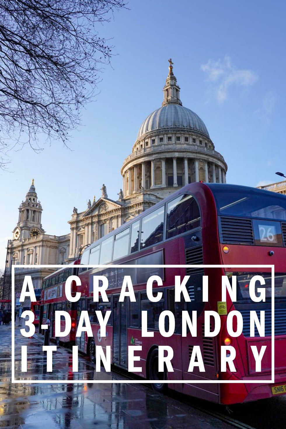 20 Day London Itinerary   How to Spend Your First 20 Hours in ...