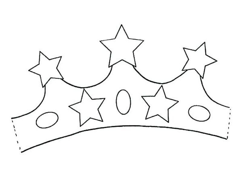 Crown Coloring Sheets For Kindergarten A Simple Headdress Or With A Lot Of Decoration Worn By Prominent People Such As Kings Queens Other Rulers And Peopl