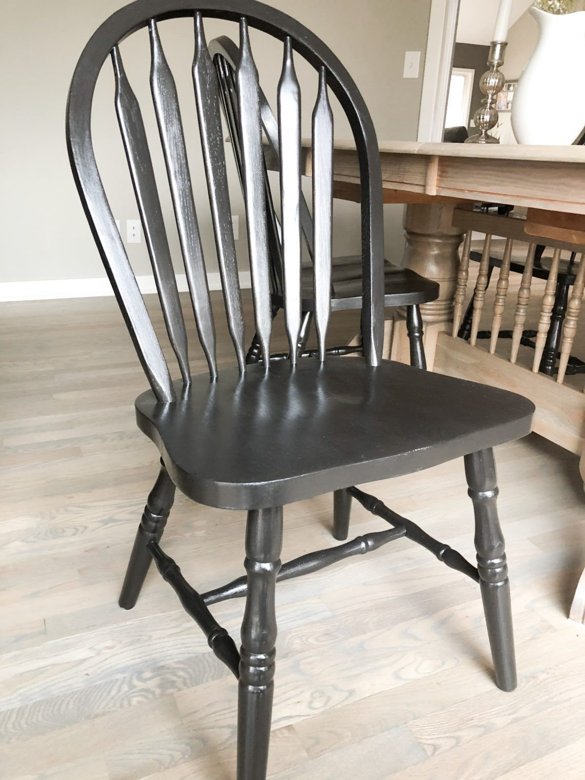 How to Stain, Paint and Reupholster a Chair Painted wood