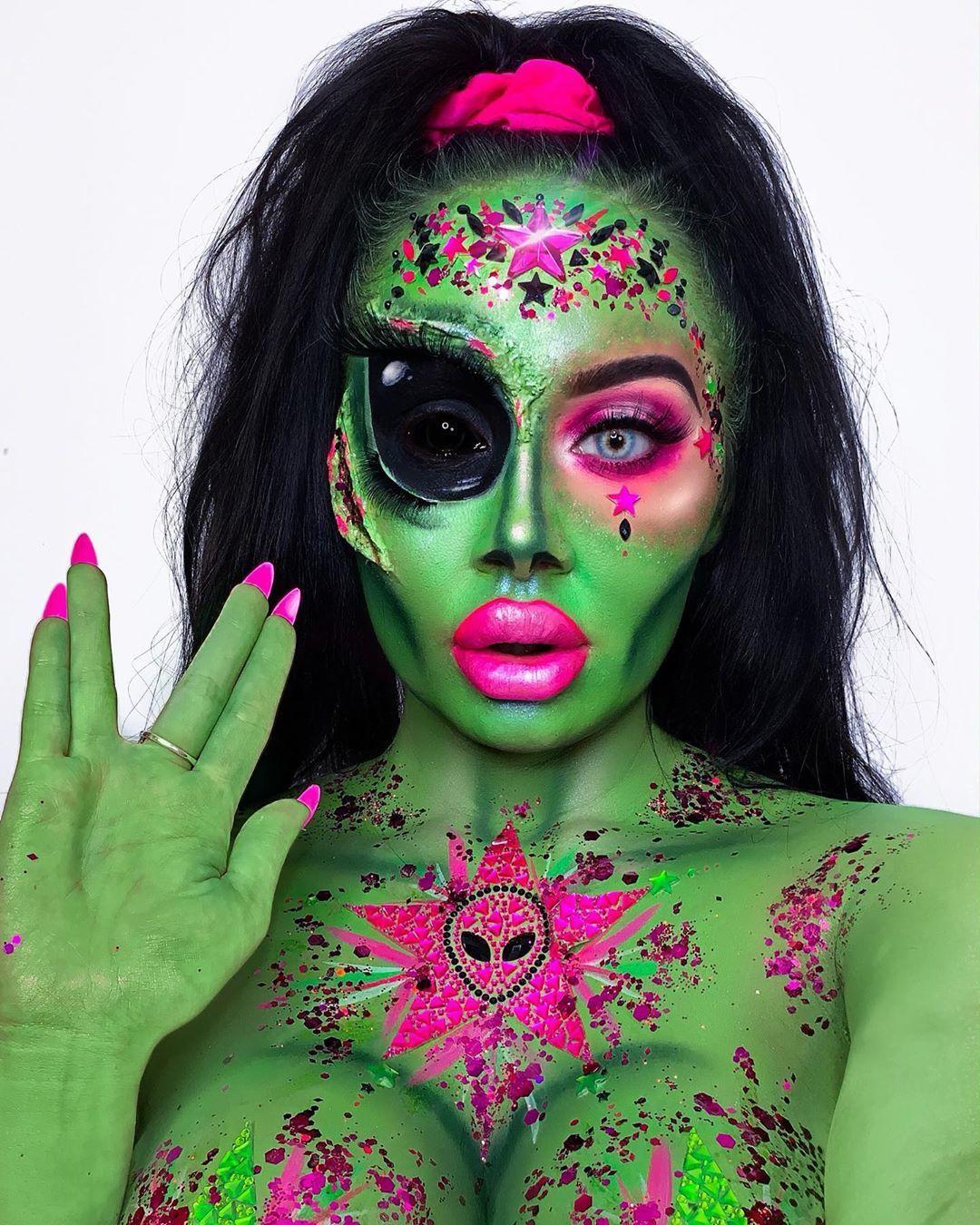 halloween makeup image by SAAS Transportation, Inc