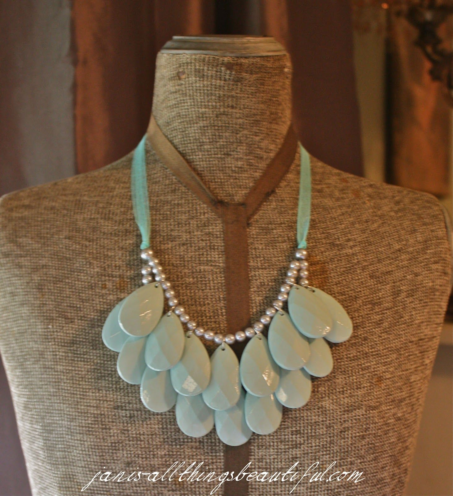 Would you guess that this necklace was made of plastic chandelier would you guess that this necklace was made of plastic chandelier crystals silver aloadofball Choice Image
