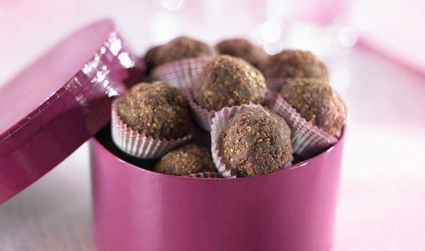 Trufas integrales de cocoa #CuidarseEsDisfrutar