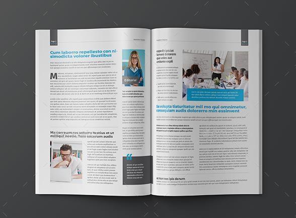 Printable Newsletter Templates  PsdIndesignWordAi