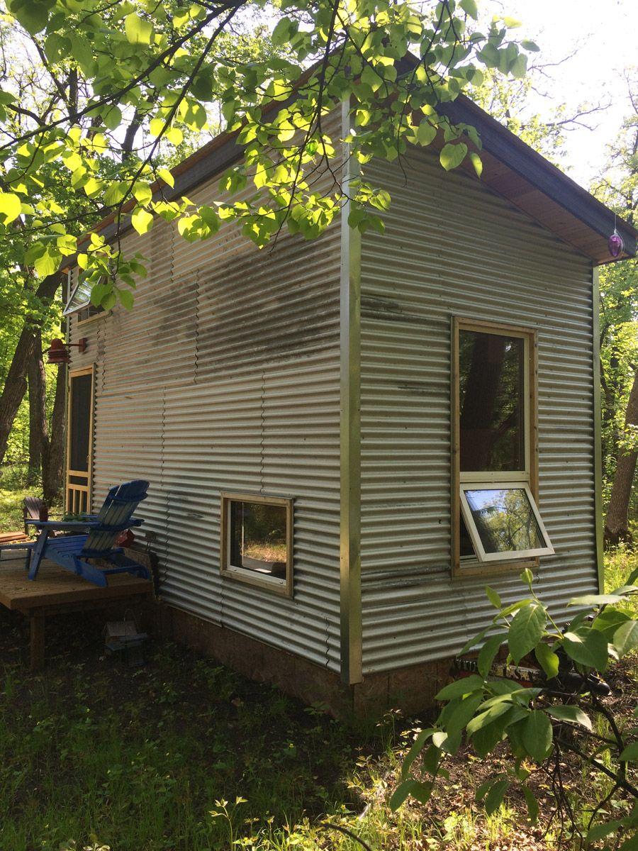 Manitoba Tiny House | Tiny Homes She Built | Pinterest