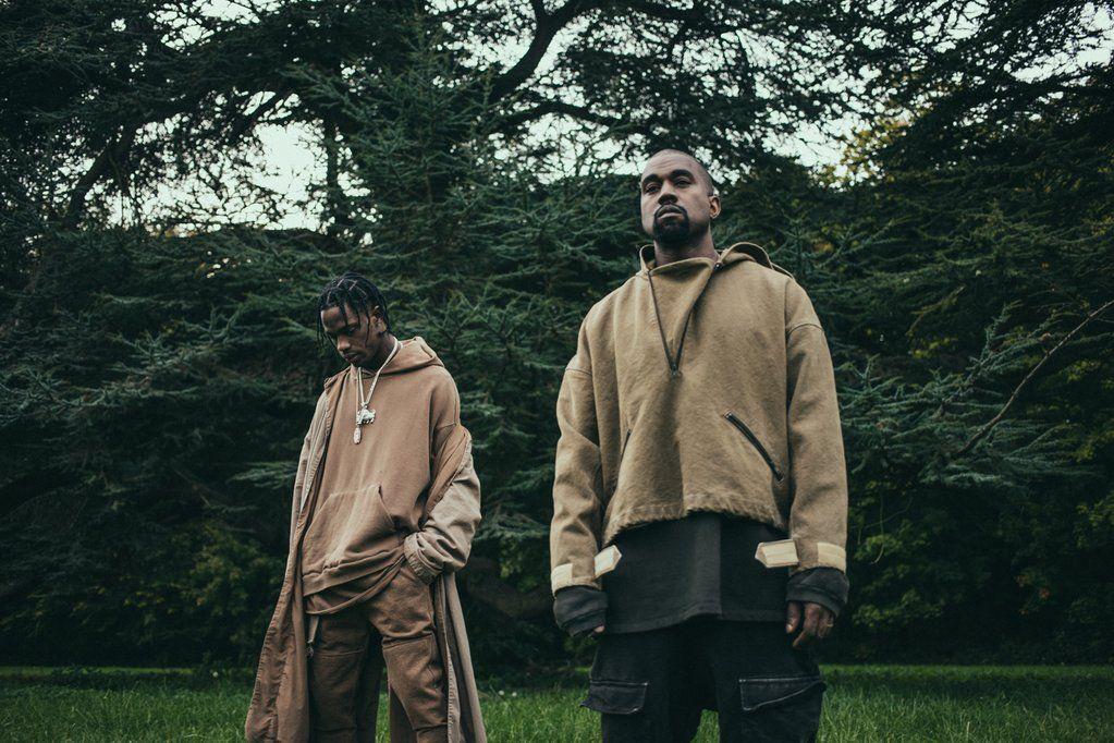 Travis Scott Kanye West Kanye West Sweatshirt Yeezy Fashion Kanye West