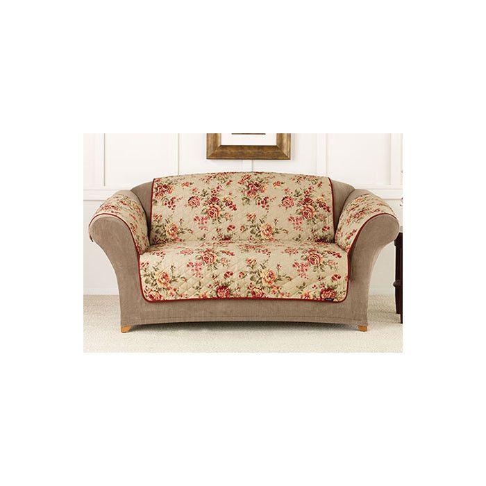 Groovy Sure Fit Lexington Floral Pet Loveseat Cover Reviews Short Links Chair Design For Home Short Linksinfo