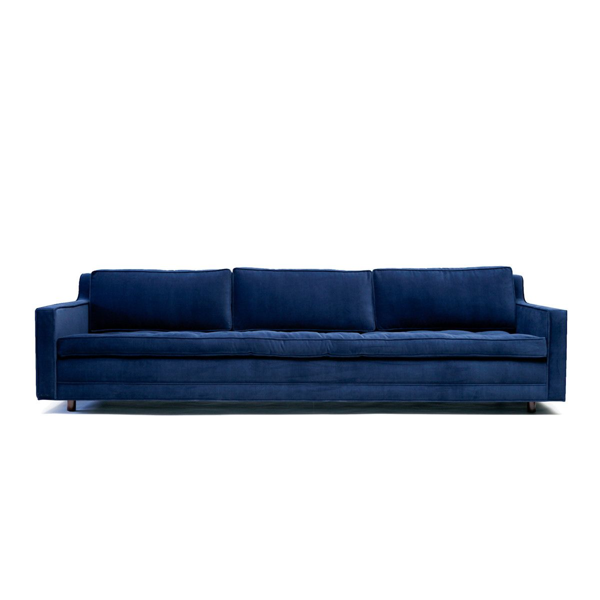 Up Three Seater Sofa in Deep Blue | Decor and Design | Pinterest ...