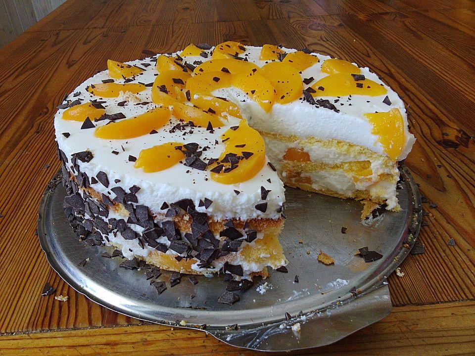 Pfirsich - Joghurt Torte mit Vanillehauch, ein schönes Rezept aus der Kategorie Torten. Bewertungen: 57. Durchschnitt: Ø 4,3.