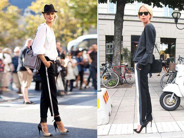 Tu Decides Side Stripe Pants Si O No Fashion Side Stripe