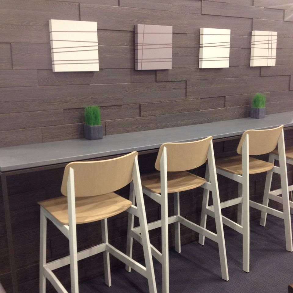 Sadie Bar Stools designed for Grand Rapids Chair Company by Joey ...