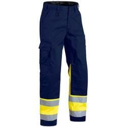 Photo of Pantaloni Blakläder® unisex alta visibilità 1564 blu taglia 25
