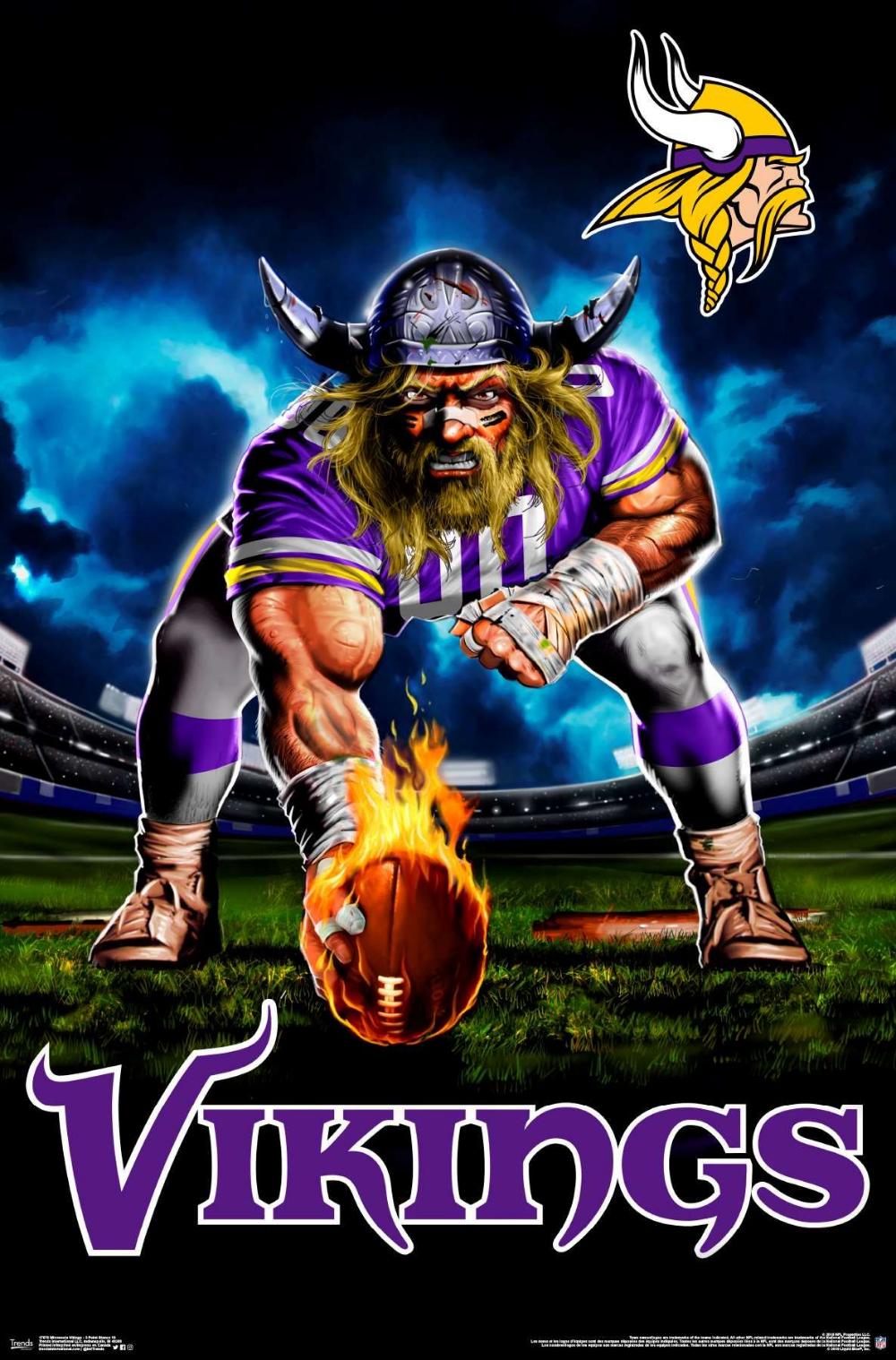 Nfl Minnesota Vikings 3 Point Stance In 2020