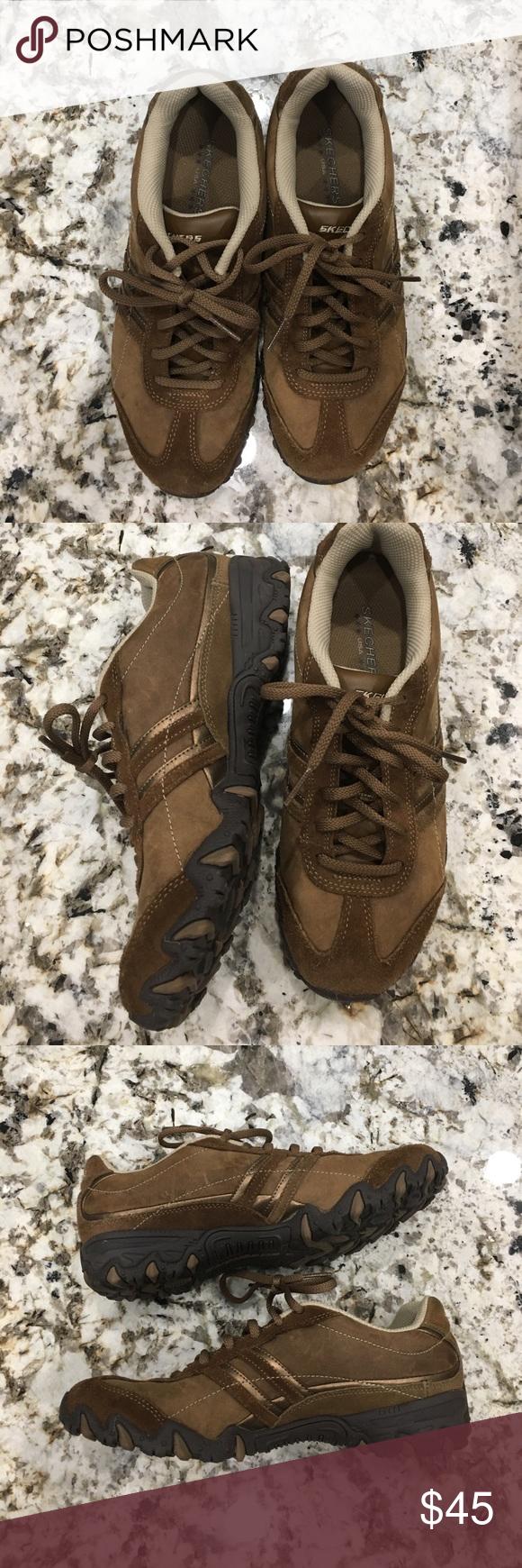 67d9fa7269a0 Women s 7.5 Skechers Organic Desert Shoes Sneakers Women s size 7.5 Skechers  Brown Organic Desert Dressy Sneakers