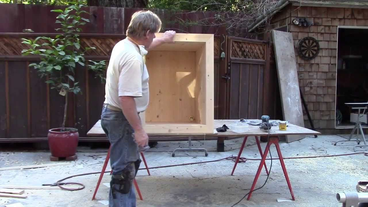 How to make a japanese style soaking tub its made out of