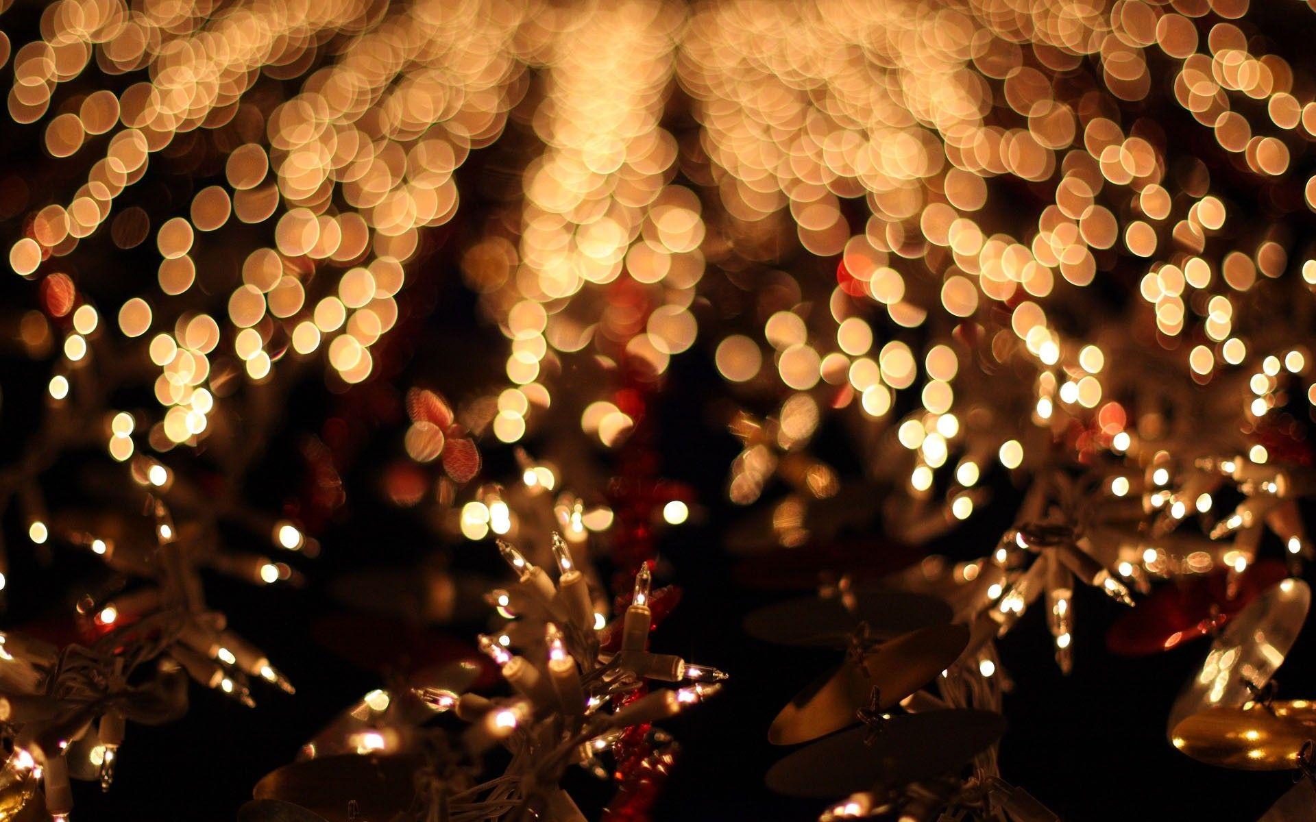 Lights Bokeh Christmas Fairy Lights Christmas Lights Wallpaper