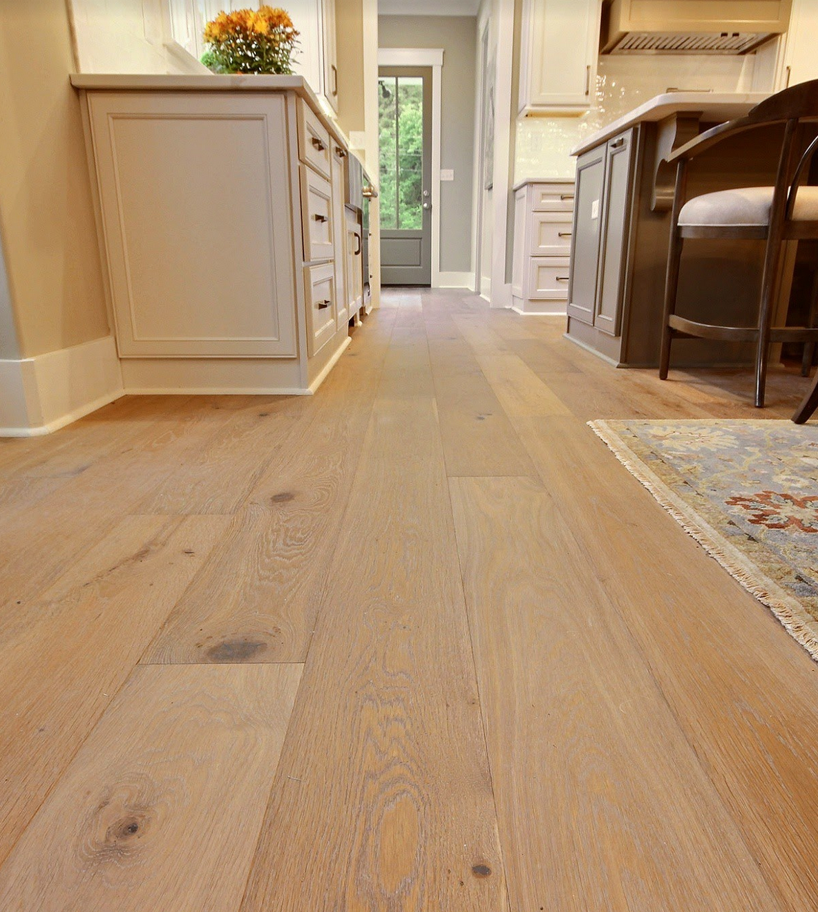 These Beautiful Wide Plank Floors Done By Old World Floors As A Part Of The 2018 Vesta Home Show In 2020 Plank Flooring Flooring Wide Plank Flooring